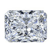 Picture of radiant cut diamond