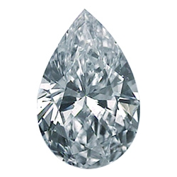 Picture of 0.72 Carats, Pear Diamond with Good Cut, D Color, SI1 Clarity and Certified by GIA