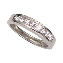0.60 carats Princess diamond  Wedding or Anniversary ring