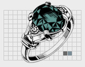 Picture of an engagement ring design