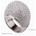 Picture of The DiamondsDome, Four carats hundreds of diamonds