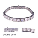 Picture of 4.65Cts I VS2 Round diamonds tennis bracelet
