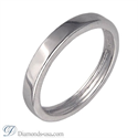 Picture of 3mm and 4.5 mm Duo Wedding bands