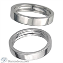 Picture of 4.5mm Flat surface Wedding band