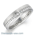 Picture of 0.94 carats 6mm eternity court wedding band