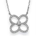Picture of 0.27 carat  diamond Club Pendant