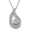 Picture of Designers pendant with 0.60 carat round diamonds