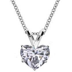 Solitaire Pendant for Heart shaped diamonds
