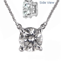 Picture of Fixed Round Diamonds Pendant