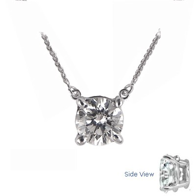 Fixed Round Diamonds Pendant