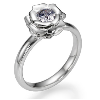The Rose, Exclusive engagement ring settings