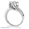 Picture of Designers Bridal set 1 carat side diamonds