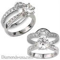 Picture of Designers line bridal ring sets