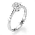 Picture of 7 diamonds engagement ring