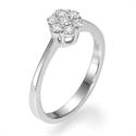 Foto Anillo de compromiso con 7 diamantes de