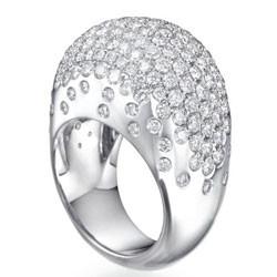 Bombay diamond Cocktail designers ring
