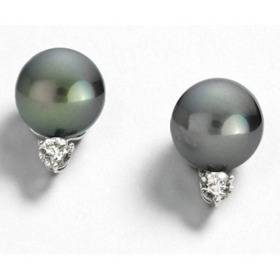 9.5mm South sea pearl stud earrings