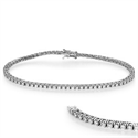Picture of 2.10 carats Round Diamonds Tennis Bracelet