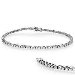 2.10 carats Round Diamonds Tennis Bracelet