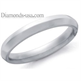 Picture of 3mm Knife Edge Woman's wedding ring.