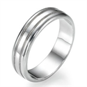 Picture of 5.80 mm wedding band for Men & Women