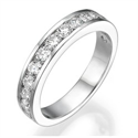 Picture of 1.12 carats Round diamonds wedding band