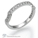 Picture of 0.30 carat diamonds Matching wedding band