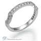 Foto Diamantes de 0.30 quilates Corbata de matrimonio a juego de