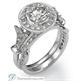 Picture of 0.30 carat diamonds Matching wedding band