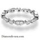 Picture of 0.50 carats designers wedding or anniversary band
