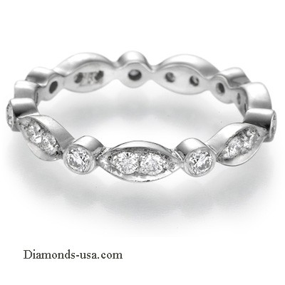 0.50 carats designers wedding or anniversary band