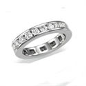 Picture of 1.25 carats Round diamonds eternity band