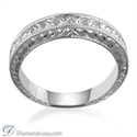 Picture of Vintage style wedding ring, 1.00 carats .