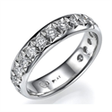Picture of 3/4 carat 4.5mm wedding band