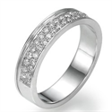 Picture of Diamonds wedding band
