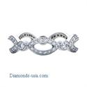 Picture of Cat Eyes diamond ring, half a carat round diamonds