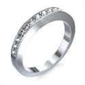 Picture of Wedding or anniversary Princess diamond ring,