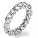 Picture of The waves eternity diamonds band 3.05Cts total weight