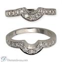 Foto Anillo de bodas con diamantes de 0,25 quilates de