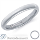 Picture of Diamond and inscription wedding ring-2.6mm