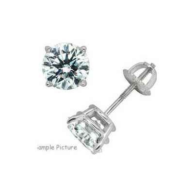 0.50 carat Diamond earring studs