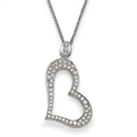 Picture of Designers diamonds heart Pendant