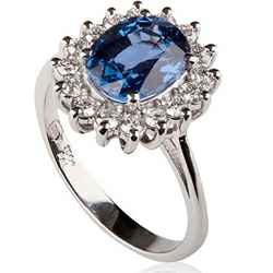 1.30 carat ,Princess Diana replica ring