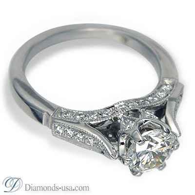 Vintage Designers engagement ring