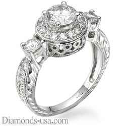 Designers Vintage engagement ring