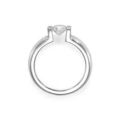 Classic Tension engagement ring