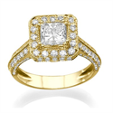 Picture of Designers Princess diamond engagement ring