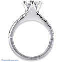 Picture of Designers Engagement Ring set with diamonds