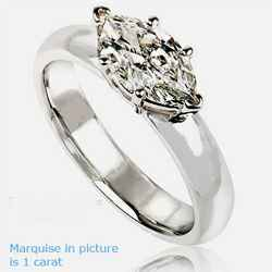 East West Marquise Diamond Ring