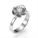 Picture of Viola Flower ring